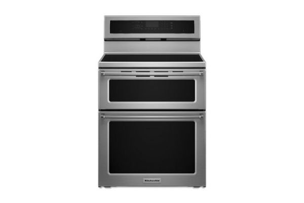 Induction Ranges with Double Oven